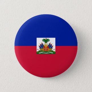 Low Cost! Haiti Flag Button