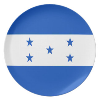 Low Cost! Honduras Flag Dinner Plate