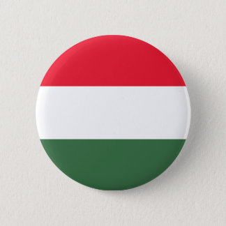 Low Cost! Hungary Flag Pinback Button