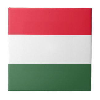 Low Cost! Hungary Flag Tile