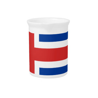Low Cost! Iceland Flag Drink Pitcher