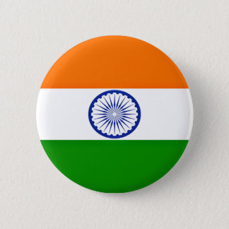 Low Cost! India Flag Button