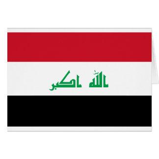 Low Cost! Iraq Flag Card