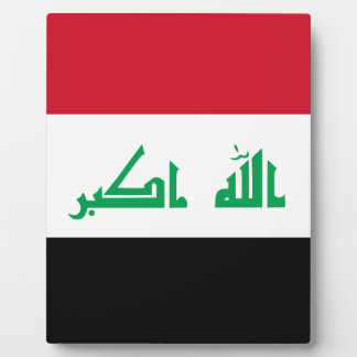 Low Cost! Iraq Flag Plaque