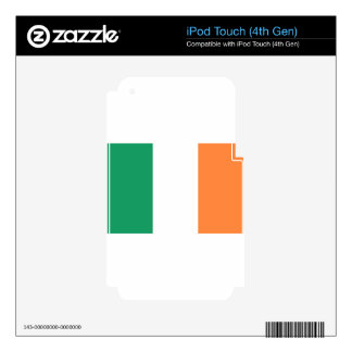 Low Cost! Ireland Flag iPod Touch 4G Decals