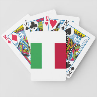 Low Cost! Italy Flag Bicycle Playing Cards