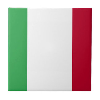 Low Cost! Italy Flag Ceramic Tile