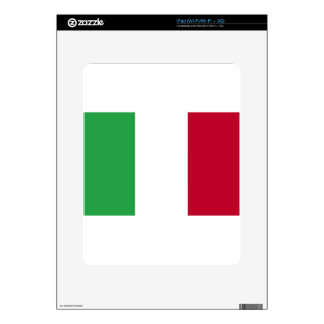 Low Cost! Italy Flag Skins For iPad