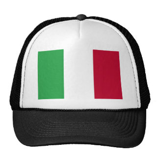 Low Cost! Italy Flag Trucker Hat