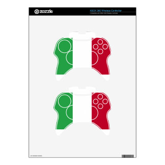 Low Cost! Italy Flag Xbox 360 Controller Skin