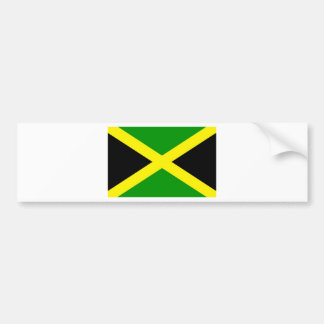 Low Cost! Jamaica Flag Bumper Sticker