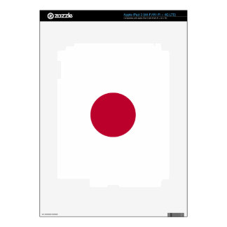 Low Cost! Japan Flag iPad 3 Decal