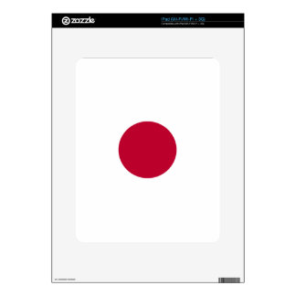 Low Cost! Japan Flag Skin For iPad