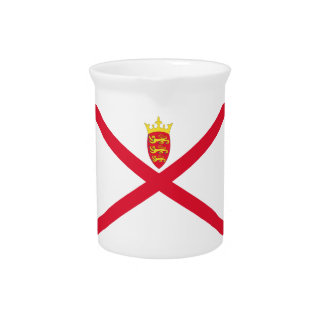 Low Cost! Jersey Flag Pitcher