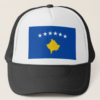 Low Cost! Kosovo Flag Trucker Hat