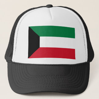 Low Cost! Kuwait Flag Trucker Hat