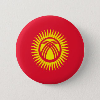 Low Cost! Kyrgyzstan Flag Button