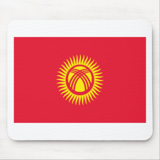 Low Cost! Kyrgyzstan Flag Mouse Pad