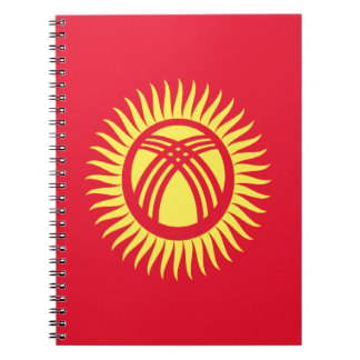 Low Cost! Kyrgyzstan Flag Notebook