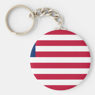 Low Cost! Liberia Flag Keychain