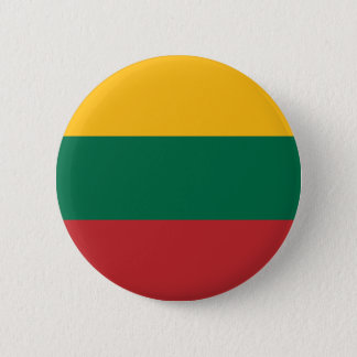 Low Cost! Lithuania Flag Pinback Button