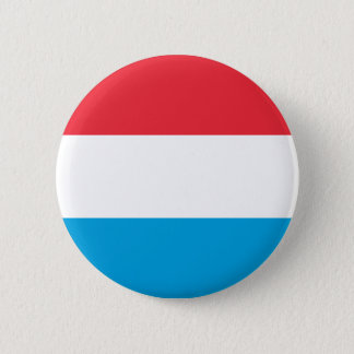 Low Cost! Luxembourg Flag Pinback Button