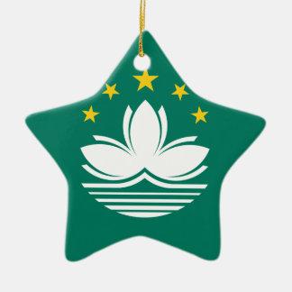 Low Cost! Macau Flag Ceramic Ornament