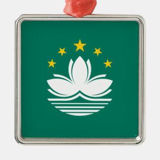 Low Cost! Macau Flag Metal Ornament