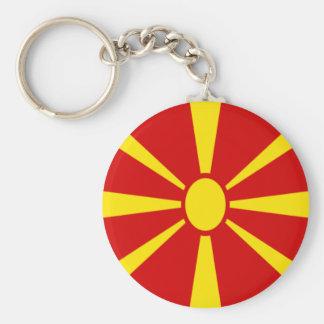 Low Cost! Macedonia Flag Keychain