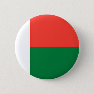 Low Cost! Madagascar Flag Pinback Button