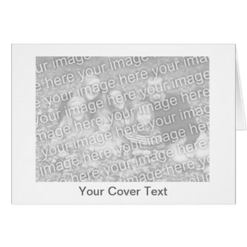 Low Cost Make Your Own Greeting Card - Horizontal by DigitalDreambuilder at Zazzle