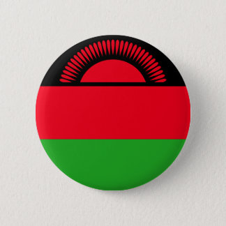 Low Cost! Malawi Flag Pinback Button