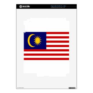 Low Cost! Malaysia Flag iPad 2 Decal
