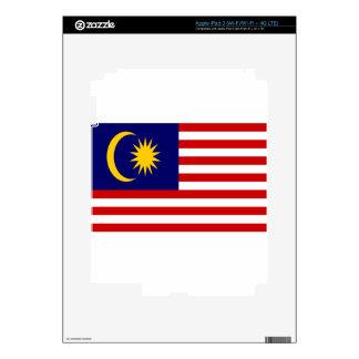 Low Cost! Malaysia Flag Skin For iPad 3