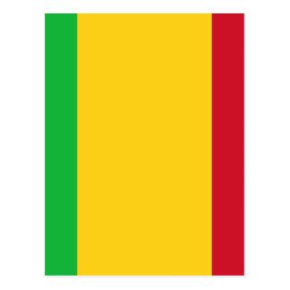 Low Cost! Mali Flag Postcard