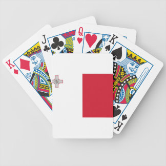 Low Cost! Malta Flag Bicycle Playing Cards