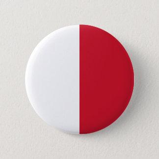 Low Cost! Malta Flag Pinback Button