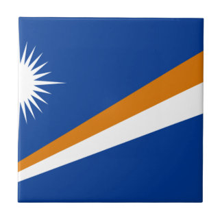 Low Cost! Marshall Islands Flag Tile