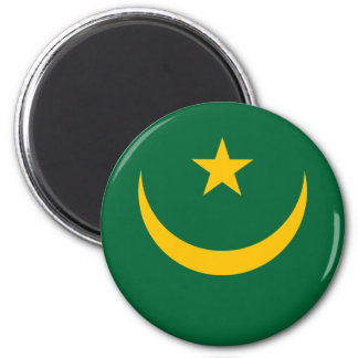 Low Cost! Mauritania Flag Magnet
