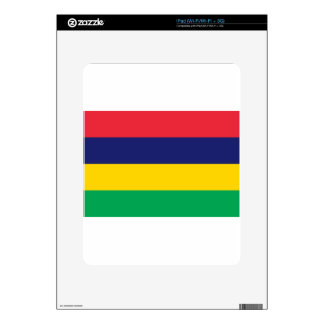 Low Cost! Mauritius Flag Skin For The iPad