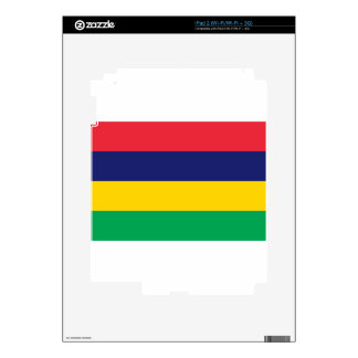 Low Cost! Mauritius Flag Skin For The iPad 2