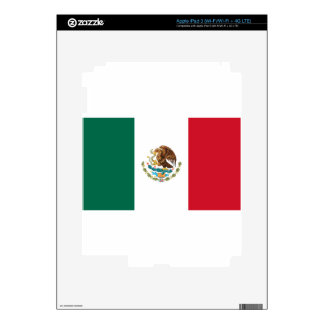 Low Cost! Mexico Flag Skin For iPad 3