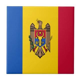 Low Cost! Moldova Flag Tile