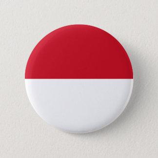 Low Cost! Monaco Flag Pinback Button