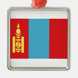 Low Cost! Mongolia Flag Metal Ornament