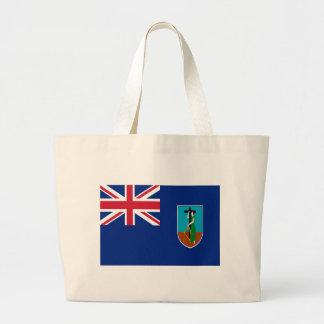 Low Cost! Montserrat Flag Large Tote Bag