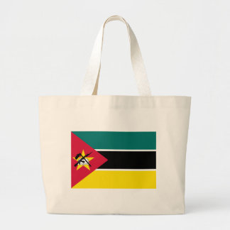 Low Cost! Mozambique Flag Large Tote Bag