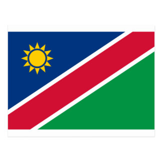 Low Cost! Namibia Flag Postcard