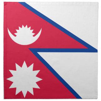 Low Cost! Nepal Flag Napkin