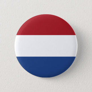 Low Cost! Netherlands Flag Pinback Button
